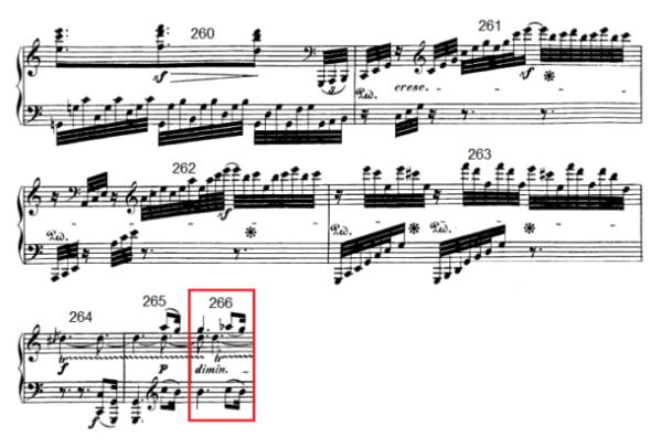 op. 111 – Eine Analyse in 335 Teilen – Takt 266