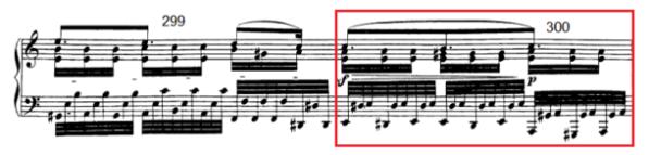 op. 111 – Eine Analyse in 335 Teilen – Takt 300