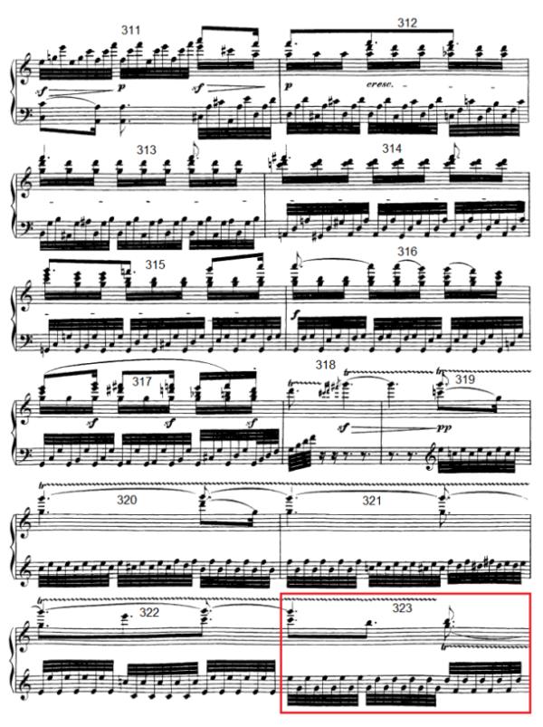 op. 111 – Eine Analyse in 335 Teilen – Takt 323
