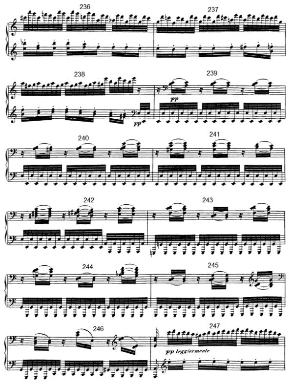 op. 111 – Eine Analyse in 335 Teilen – Takt 249