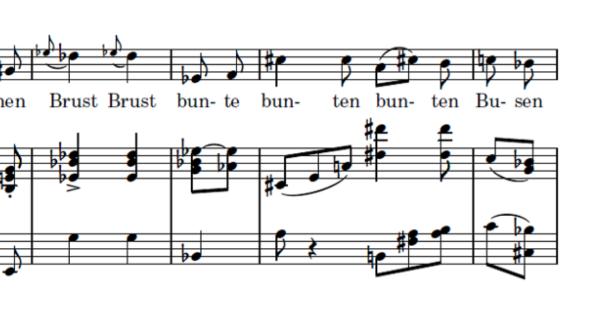 Die Winterreise in alphabetischer Reihenfolge - Buchstabe B