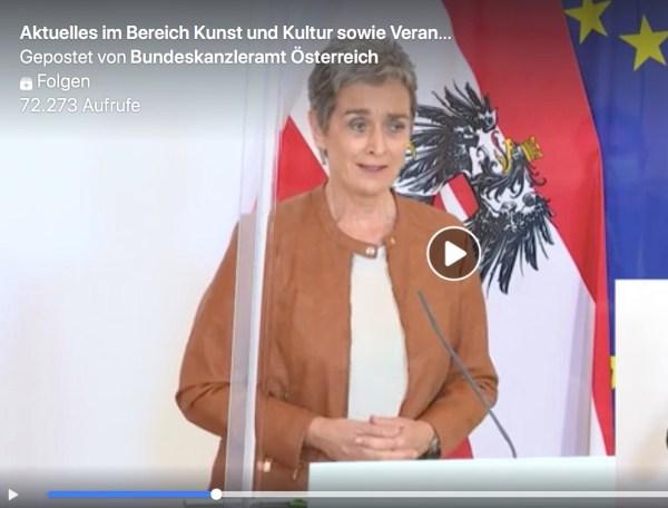 Österreich vs. Deutschland: über Wertschätzung & Wiederaufnahme des Kulturlebens