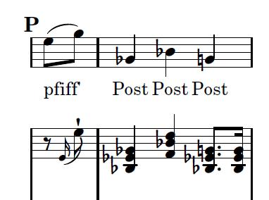 Die Winterreise in alphabetischer Reihenfolge - Buchstabe P