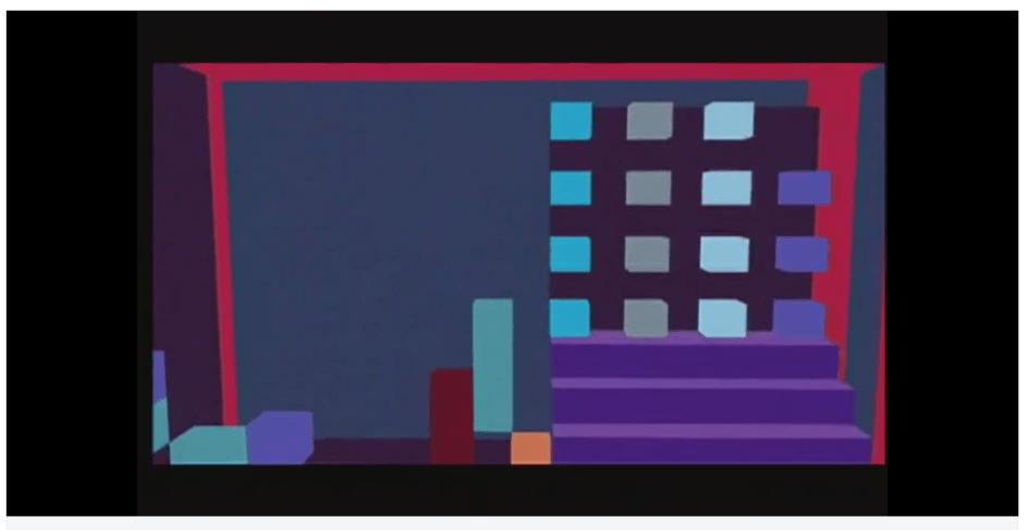 Standbild aus Michal Levys Film Giant Steps