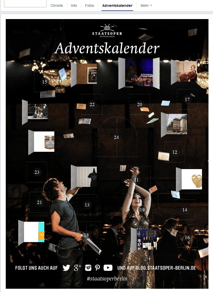 Adventskalender der Staatsoper Unter den Linden. Screenshot
