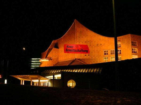 Neue Bewirtung bei den Berliner Philharmonikern. Foto: Hufner