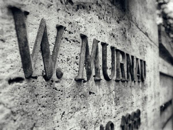 Grab von Friedrich Wilhelm Murnau auf dem Südwestfriedhof in Stahnsdorf. Foto: Hufner