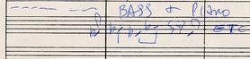 A Love Supreme. Partitur von John Coltrane