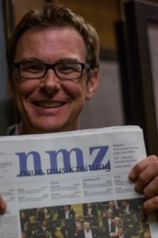 Stephan Gehmacher (Manager des Symphonieorchesters des Bayerischen Rundfunks). Foto: Hufner