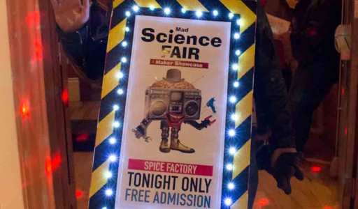 MadScience fair and steampunk technologies