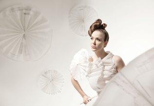 Illuminating Paper Dresses