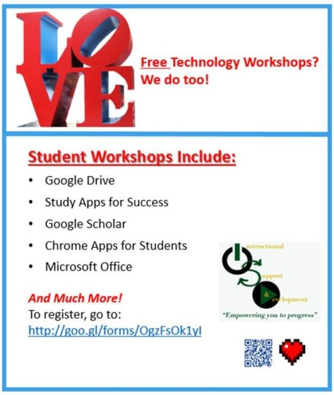 February FREE Technology Workshops for Students