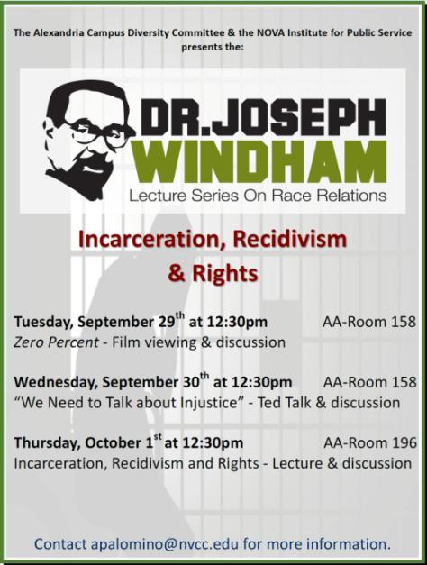 Dr. Joseph Windham Lecture Series