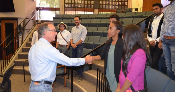 Mayor John Sawyer and CCI