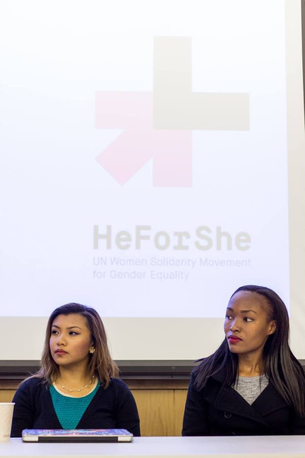 Kay on HeForShe Panel