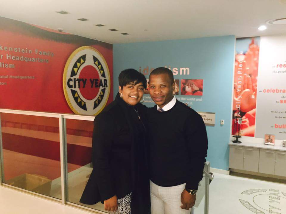 Tumelo's CCI Internship Experience: City Year Boston and Beyond