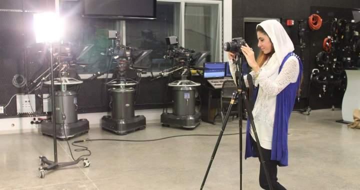 Tayyaba filming