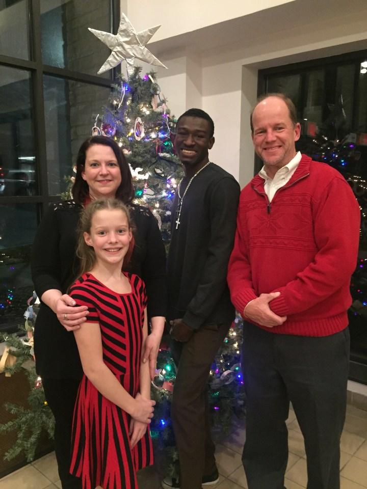 Ebenezer and social host family