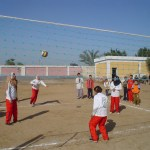 Egyptian girls playing sports
