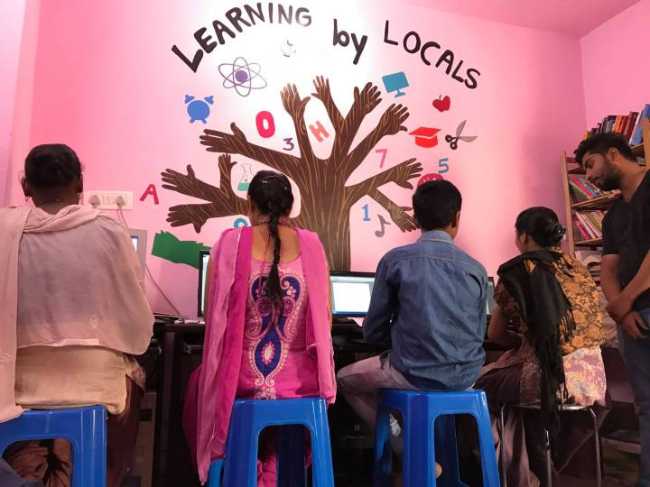 Learning by Locals students