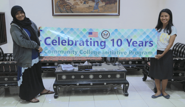 CCI alumni in Lombok, Indonesia