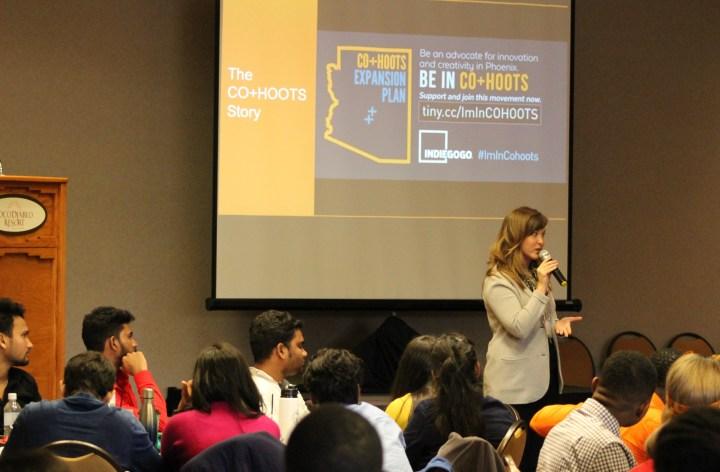Co+Hoots speaker Lisa Glenn Nobles