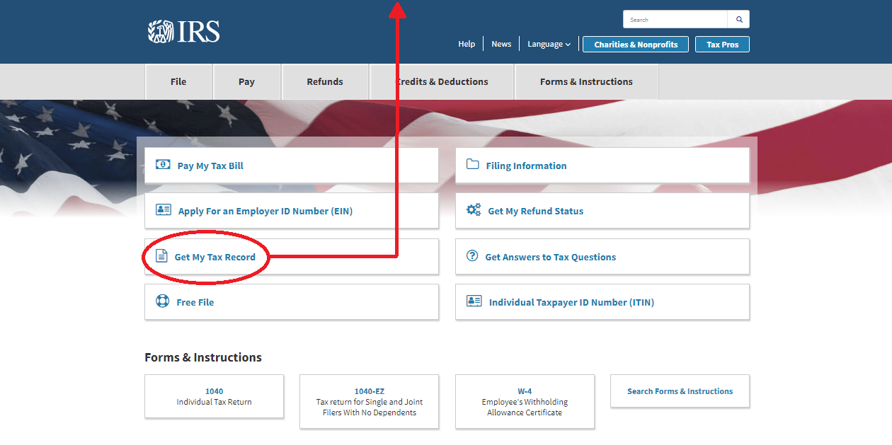 IRS Website Update
