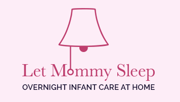 Let Mommy Sleep Logo