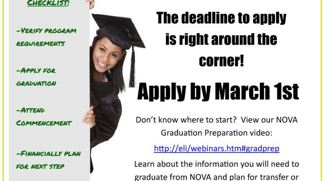 Are YOU planning to graduate in May?