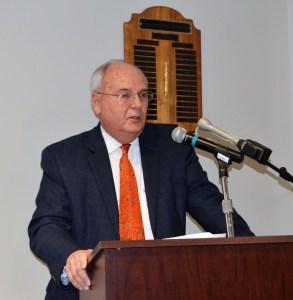 Alexandria Liberal Arts Division Dean Jimmie McClellan