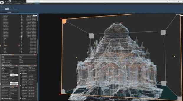 CyArk Bagan World Heritage Site 3D scan