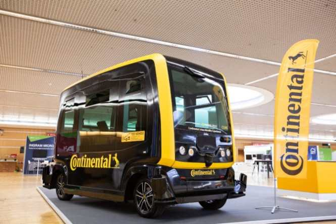 Continental CUbE at GTC Europe