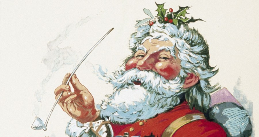 Merry Old Santa Claus, by Thomas Nast
