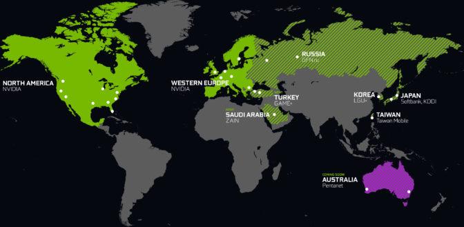 GeForce NOW Data Centers