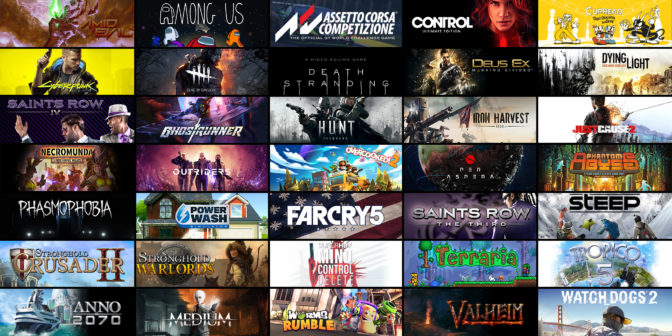 These are just a few of the amazing GeForce NOW-supporting games on sale during the Steam Summer Sale 2021.