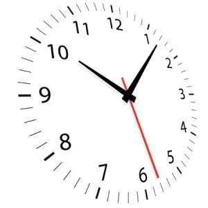 Clock picture for blog post
