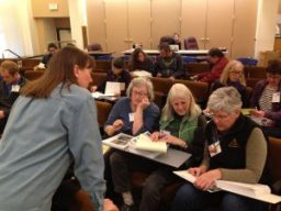 Master Gardener Training Class Students and Instructor Jane Collier