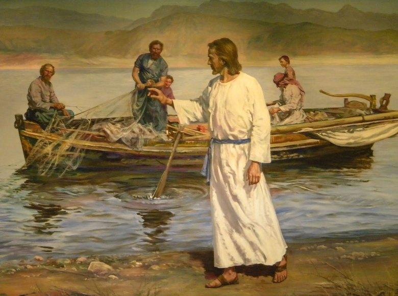 Resultado de imagen para jesus resucitado pescando