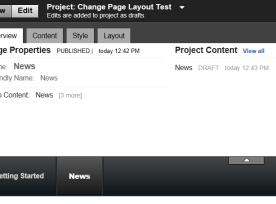 Portal 8 Page Editing image