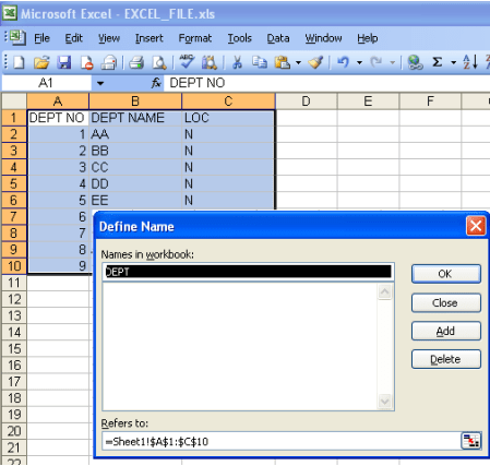 Informatica:Use a Microsoft Excel worksheet as a source - Perficient ...