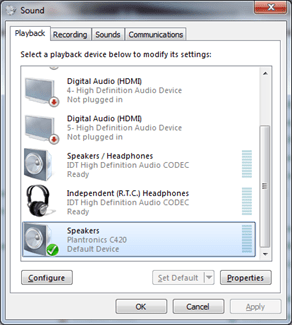 What?!?! How to Correct Audio Playing Through Speakers