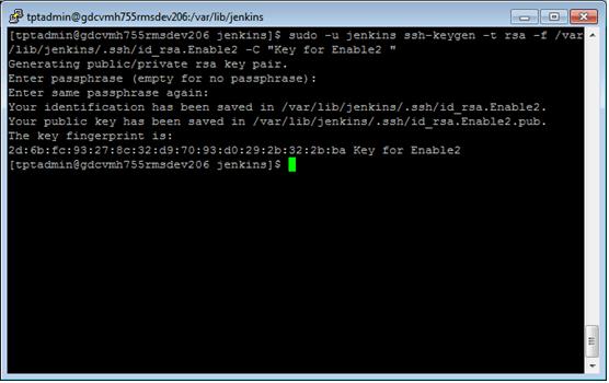 Using GIT deploy key in Jenkins - Written By Tom Tang