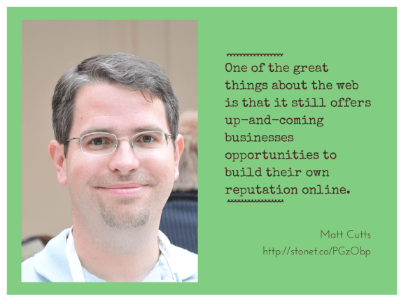 Matt Cutts on what constitutes quality content.