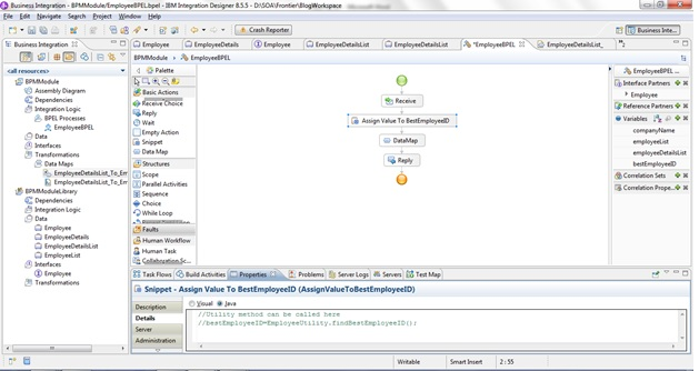 XML Mapping Approaches using IBM Integration Designer 8 5