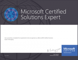 My Experience Taking a Microsoft Certification Exam …At Home