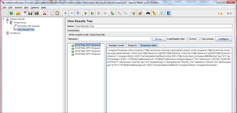 Performance Testing Framework for Websphere Message Broker