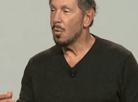 Larry Ellison at OOW 2015