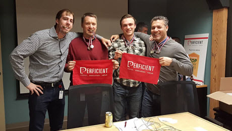 Office Olympics Strengthen Perficient's Minneapolis Team