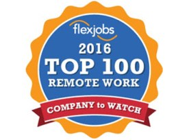 Perficient Named a Top 100 Company to Watch for Remote Jobs in 2016
