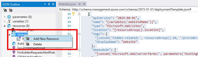 Azure ARM Template: Define Web App Application Settings - Perficient ...